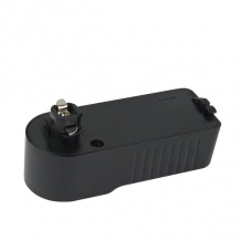 1-Phase Adapter Black (RAL9004)